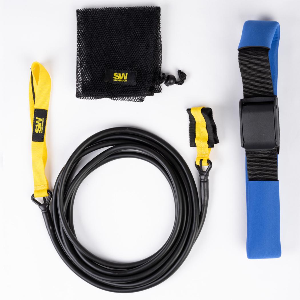 Резина для протяжки пловца Rubber Max Power with Rope 4m