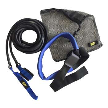 Резина для протяжки пловца Rubber broach 6m, цвет синий